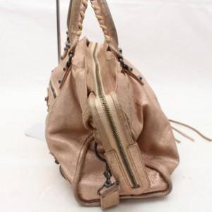 Balenciaga First City 2way 868857 Pink Leather Shoulder Bag