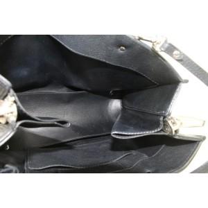 Balenciaga Grained Calfskin Plate Papier A6 Zip Around Tote 2way Bag 20bal111