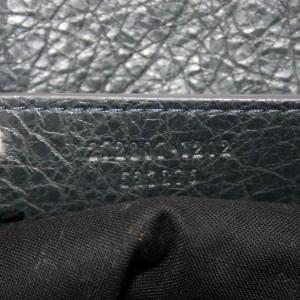 Balenciaga Messenger Reporter City Arena Flap Utility 870756 Black Leather Cross Body Bag