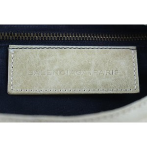 Balenciaga Off-white The City 2way 9be1226 Ivory Leather Shoulder Bag