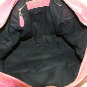 Balenciaga Oxford The City 2way 870151 Pink Leather Shoulder Bag