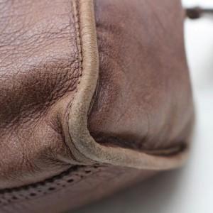 Balenciaga Oxford The First City Handbag 868288 Brown Leather Shoulder Bag