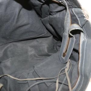 Balenciaga The City 2way Charcoal 872610 Gray Leather Shoulder Bag