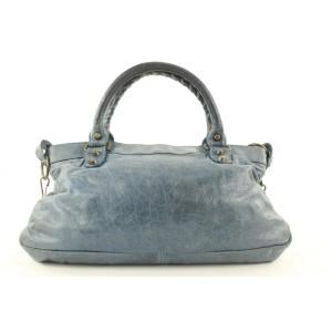 Balenciaga Blue The First 2way Bag  38bal122
