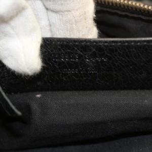 Balenciaga Twiggy 2way Boston 868686 Green Leather Shoulder Bag