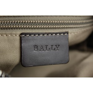 Bally High Point Brown Leather Crossbody Bag 32BY1215