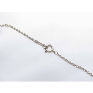TIFFANY & Co. silver Open Apple Necklace