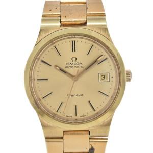 OMEGA Geneva Cal.1012 Gold Dial Automatic Men's Watch