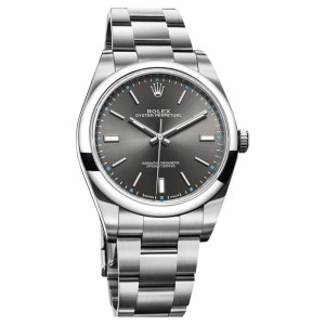 Rolex Oyster Perpetual 114300 drio Stainless Steel 39mm Unisex Watch