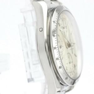 OMEGA Stainless steel Speedmaster Triple Date Watch HK-2152