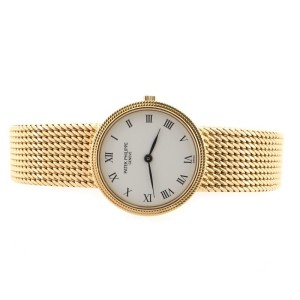 Patek Philippe Calatrava 4819 Quartz Watch Yellow Gold 25