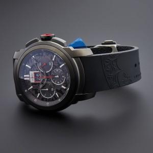 Michel Jordi Black Furka Chronograph Men's Sim.100.03.003.01 Watch