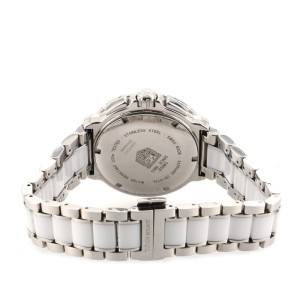 Tag Heuer Formula 1 Chronograph Quartz Watch Stainless Steel and Ceramic with Diamond Markers 41