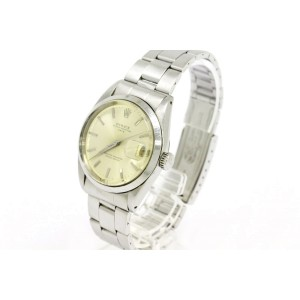 Rolex Oyster Perpetual Stainless Steel Automatic 35mm Mens Watch