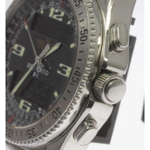 Breitling B-1 A68362 Stainless Steel Quartz 42mm Mens Watch