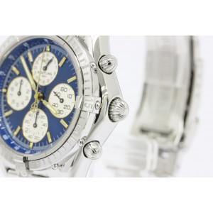 Breitling Chrono Cockpit Airborne A33012 Stainless Steel 37mm Watch