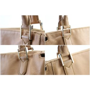 Botkier Light Brown Leather 2way Flap Chain Bag 116bk428