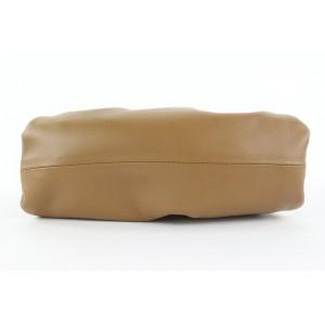 Bottega Veneta Camel Brown Smooth Leather Mini Pouch Crossbody Bag 876bot412