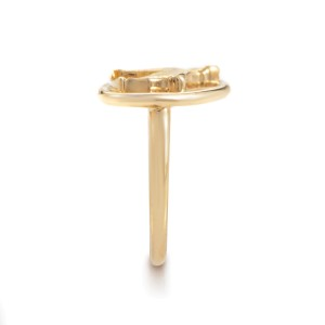Boucheron 18K Yellow Gold Dog Ring