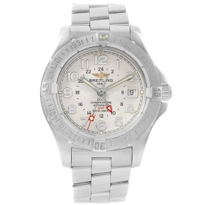 26cda16e1cc Breitling Colt A32350 Stainless Steel Automatic 40mm Mens Watch ...