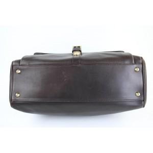 Other Briefcase Satchel 2way 99mt32 Dark Brown Leather Messenger Bag