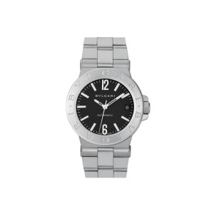 Bulgari Diagono DG35BSSD Stainless Steel 35mm Watch