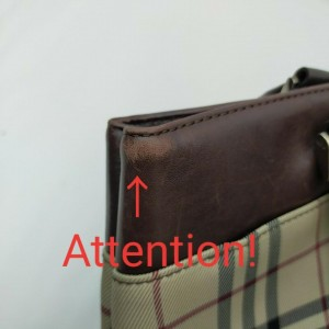 Burberry Nova Check Tote Bag  862270