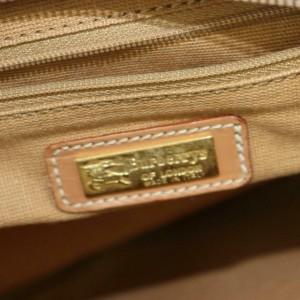 Burberry Camera Reporter Nova Check 872904 Beige Coated Canvas Messenger Bag