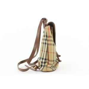 Burberry Beige Nova Check Mini Backpack 333bur519