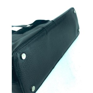 Burberry Black Leather Nova Long Tote 12bur858