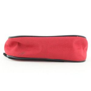 Burberry Red Nova Check Glove Pouch 165bur25