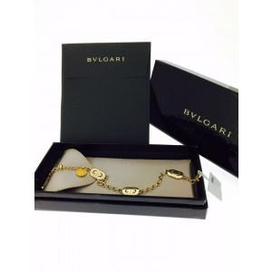 Bvlgari 18K Yellow Gold Parentesi Chain Link Bracelet 341548