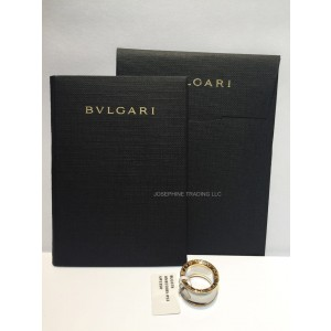 Bvlgari Bulgari Anish Kapoor B. Zero 1 Steel and Rose Gold Ring