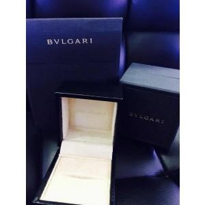 Bvlgari Bulgari 18K Rose Gold and Diamond Band Ring AN854185