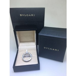 Bvlgari Bulgari B. Zero 1 18K White Gold 1 Band Ring Size: 9.75