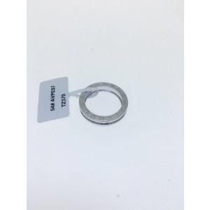 Bvlgari Bulgari B. Zero 18K White Gold 1 Band Ring AN852423