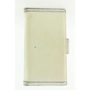 BVLGARI White Leather Wallet 95bvl427