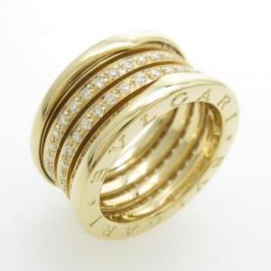Bulgari B.zero1 18K Yellow Gold Band Ring Size 10.5