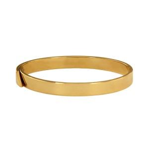 Cartier Anniversary Diamond 18 k Gold Bangle Bracelet size 17
