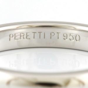 TIFFANY&Co. Platinum Diamond Single Ring