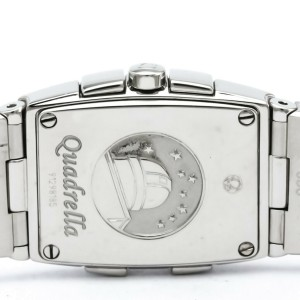 OMEGA Constellation Quadrella MOP Dial Ladies Watch 1584.79