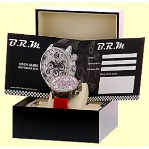 Bernard Richards Manufacture B.R.M. V14-44 BG-AR Titanium Chronograph 44mm Strap Watch