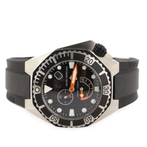 Girard Perregaux Sea Hawk Automatic Watch Stainless Steel and Rubber 44