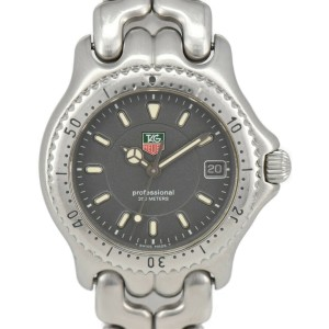 TAG HEUER S/el Professional 200M W1213-K0 gray Dial Quartz Boy's Watch