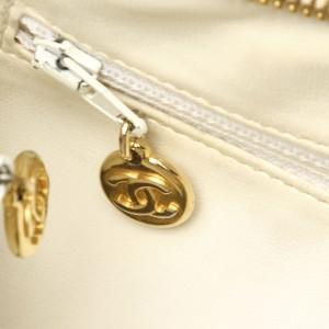 CC Caviar Leather Shoulder Bag