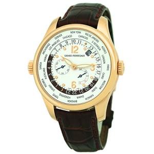 "Girard Perregaux ""World Timer"" 18K Rose Gold Strapwatch"