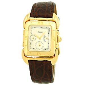 "Tabbah ""Saga"" 18K Yellow Gold Strap Watch"