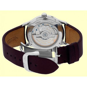 """Jaeger-LeCoultre """" Master Reserve de Marche"""" Stainless Steel Mens Strap Watch"""