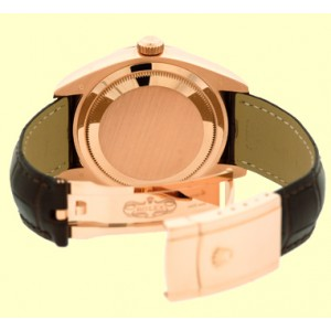 "Rolex ""Sky-Dweller"" 18K Rose Gold Strapwatch"