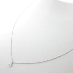 Tiffany & Co. 950 Platinum 0.21ct. Diamond Necklace